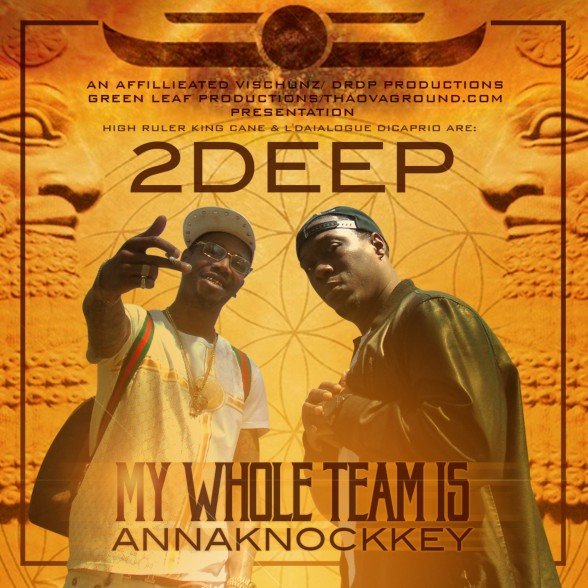 2DEEP My Whole Team Is ANNAKNOCKKEY Front Cover (3000 x 3000)